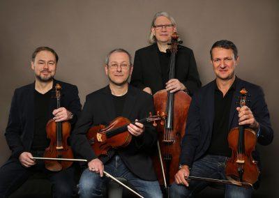 Foto del Cuarteto de Leipzig