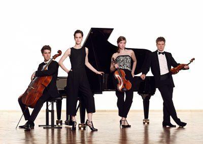Foto del Cuarteto Notos