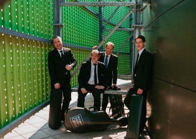 Foto del Cuarteto de Zagreb